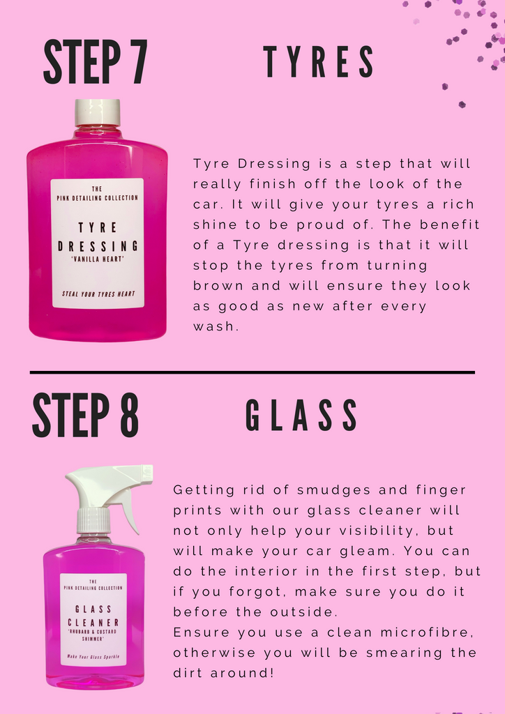 Detailing Guide - The Pink Detailing Collection