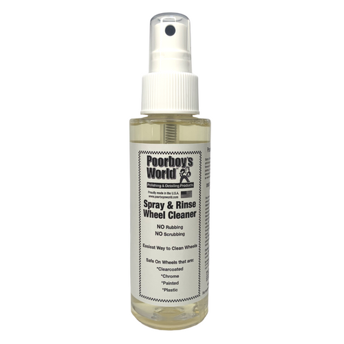 Poorboy's World Spray And Rinse Wheel Cleaner 100ml