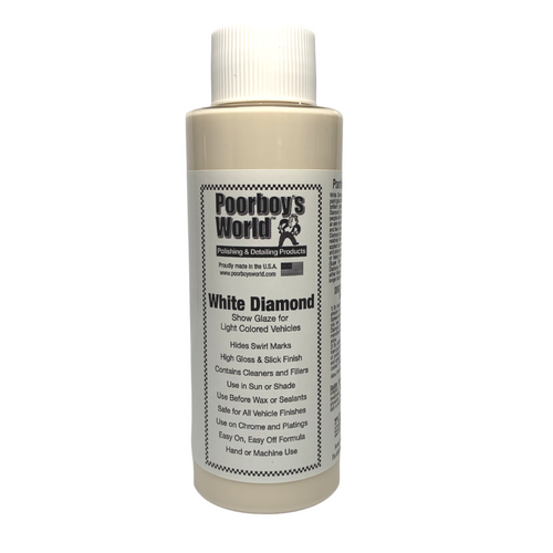 Poorboy's World White Diamond - Show Glaze 100ml