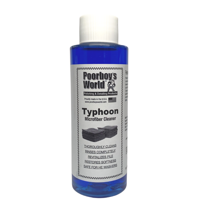 Poorboy's World Typhoon - Microfibre Cleaner 100ml
