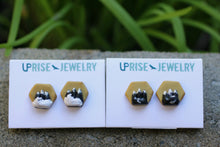 Tiny Mountain Earring Studs