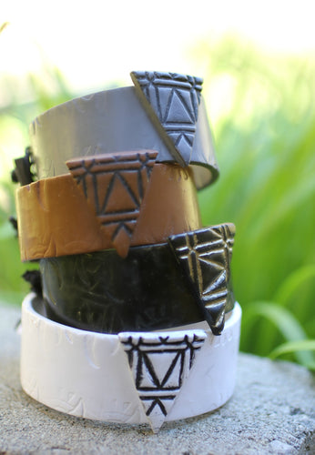 Triangle Cuff Power Bracelet - Bracelet - [variant_title] - [option1] - [option2] - [option3] - Uprise Jewelry
