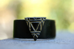 Triangle Cuff Power Bracelet