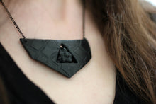 Black Pentacle Breastplate Necklace - necklace - [variant_title] - [option1] - [option2] - [option3] - Uprise Jewelry