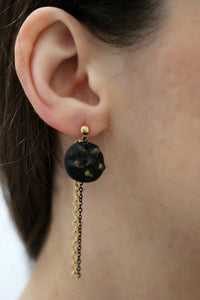 Star and Moon Mismatched Earrings - Earrings - [variant_title] - [option1] - [option2] - [option3] - Uprise Jewelry