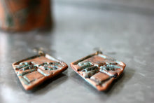 Tribal Boho Patina Copper Earrings - Earrings - [variant_title] - [option1] - [option2] - [option3] - Uprise Jewelry