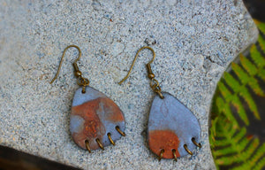 Industrial Rusted Steel Earrings - Earrings - [variant_title] - [option1] - [option2] - [option3] - Uprise Jewelry
