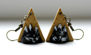 Triangle Mountain Earrings - Earrings - [variant_title] - [option1] - [option2] - [option3] - Uprise Jewelry
