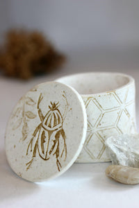 Geometric Beetle Keepsake Ring Box - Treasure/Jewelry Boxes - [variant_title] - [option1] - [option2] - [option3] - Uprise Jewelry