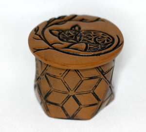 Geometric Fox Ring Treasure Box - Unparalleledcc