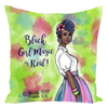 Ebony Melanin Squad Pillow