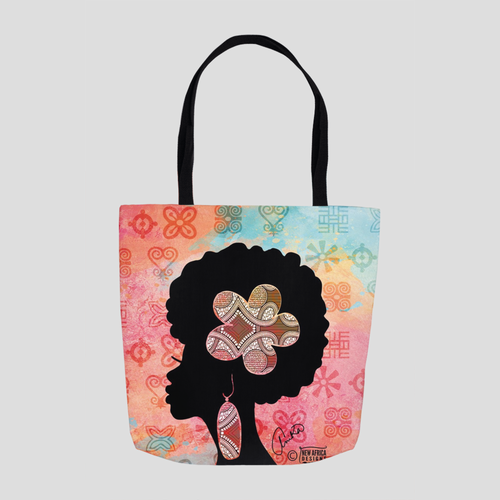 Afro Woman Tote