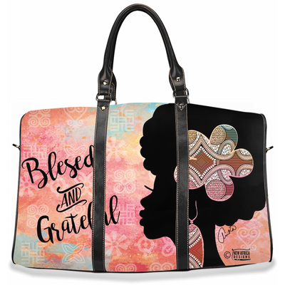 Blessed & Grateful Travel Bag