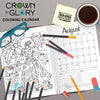 Crown N Glory 2020 Coloring Calendar