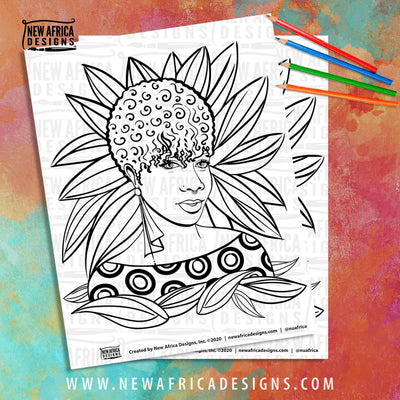 April Coloring Pages