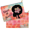 Blessed & Grateful Accessory Bag