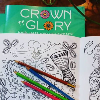 Crown N Glory Vol 1- Coloring book