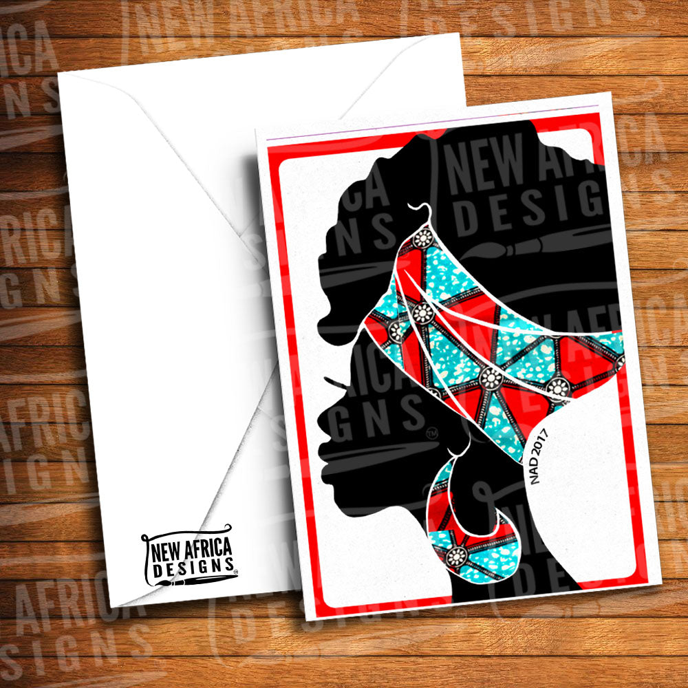 Frohawk Greeting Card