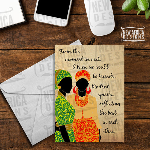 Kindred Spirits Friendship Card