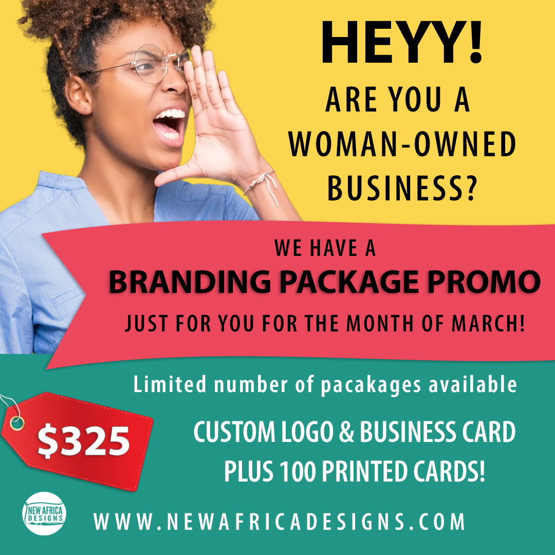 LOGO & BUSINESS CARD MARCH PROMO