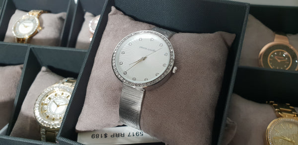 Pierre Cardin 5917 Sparkling Silver Classy Ladies Watch
