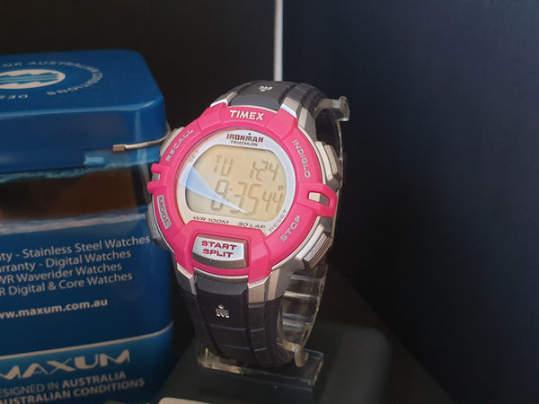 Timex Ironman Triathlon T5K811 Rugged Alarm Chronograph Ladies' Watch