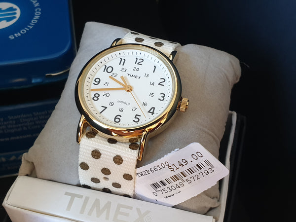 Timex indiglo Weekender Reversible TW2P66100 Ladies Watch