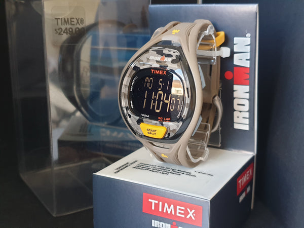 Timex Sport Ironman TW5M01300 50-Lap Traditional Watch - Brown
