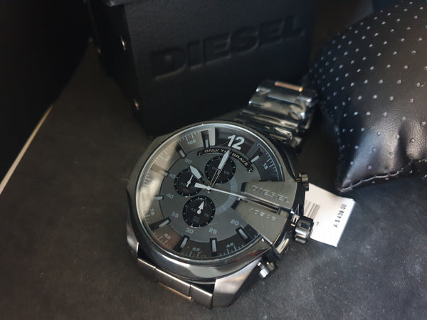 Diesel Mega chief DZ4328 Chronograph Stainless Steel Mens Watch