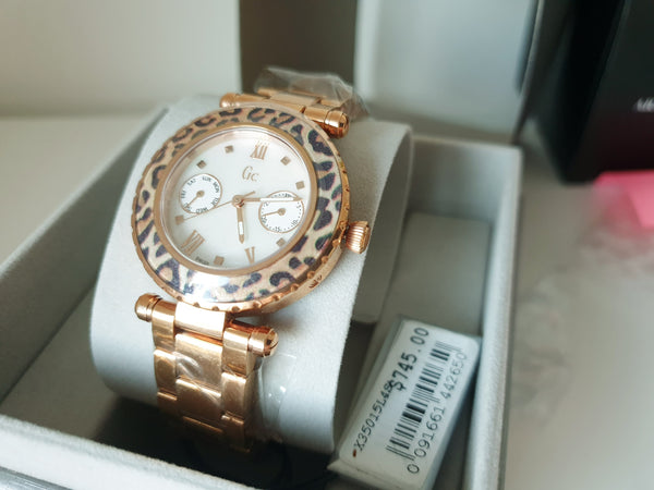 Guess Collection Swiss Gc X35015L4S Rose Gold Ladies Watch