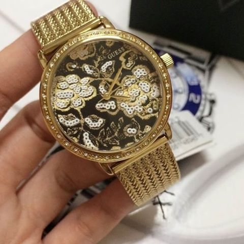 Guess W0822L2 Willow Yellow Gold Plated Quartz Movement Ladies Watch