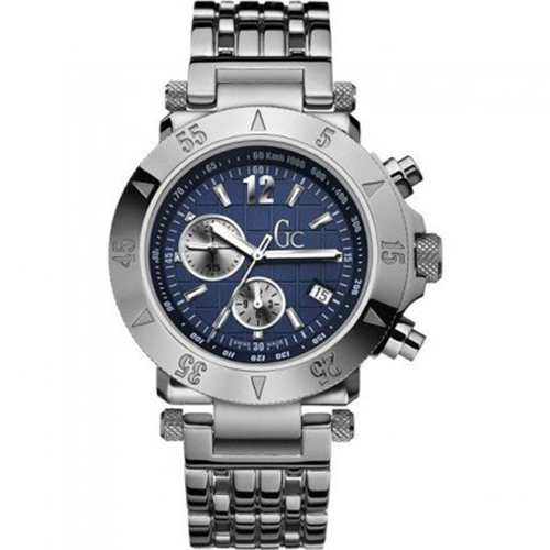 NEW AUTHENTIC GUESS COLLECTION GENTS 44502G1 STEEL WATCH