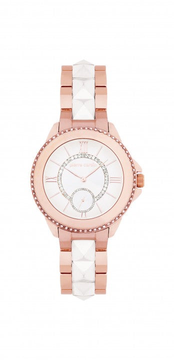 Pierre Cardin 5426 Rose Gold With Ceramic Pyramid Women's Watch