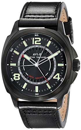 AVI-8 Curtiss Tomahawk AV-4032-05 Black Dial Men's Watch