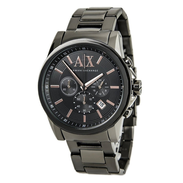 ARMANI EXCHANGE AX2086 Chronograph Grey Stainless Steel Men's Watch