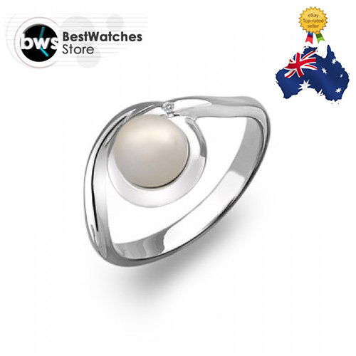 Hot diamonds DR125 /N Ladies Swirl Ring Diamonds And Pearls Ring