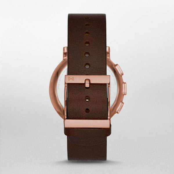 SKAGEN Hybrid Smartwatch SKT1103 Hagen Dark Brown Leather Men's Watch