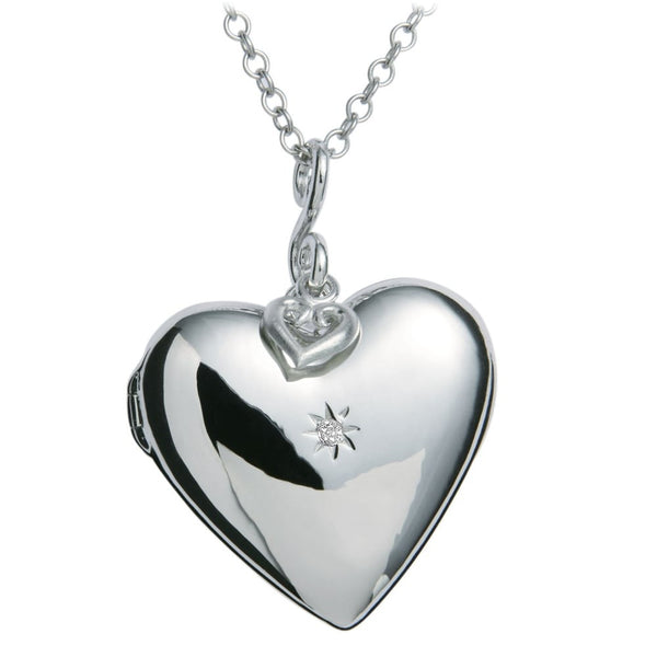 HOT DIAMONDS ETERNAL 925 STERLING SILVER NECKLACE