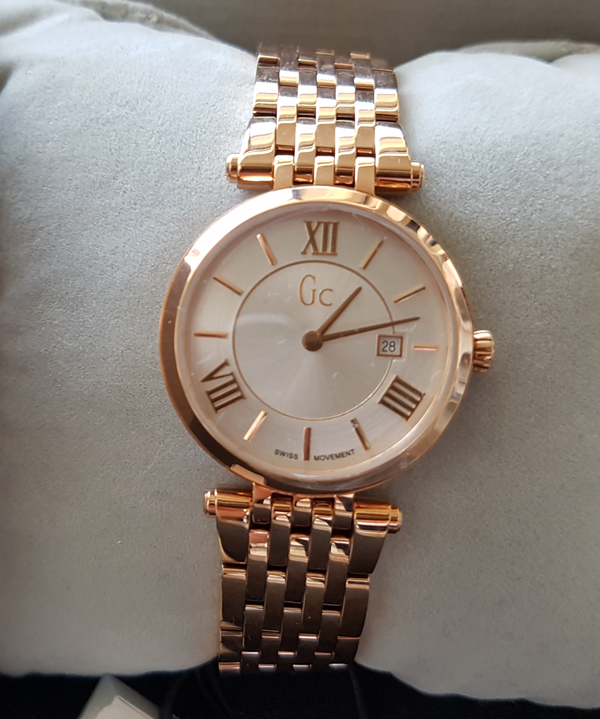 Guess Collection Swiss Gc X57003L1S Rose Gold Ladies Watch