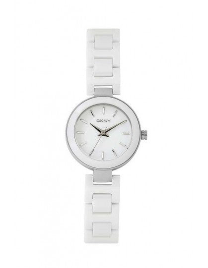 DKNY NY2354 Stanhope White Ceramic Ladies Watch
