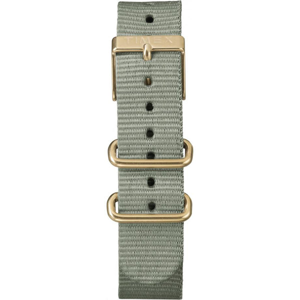 Timex TW2P88500 Indiglo Gold Case Nylon Ladies Mens Watch