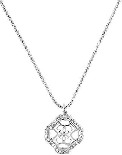 Guess Necklace Brass Zirconia UBN21568