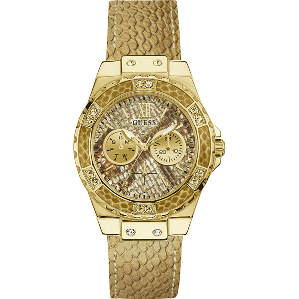 Guess W0775L13 Limelight Multifunction Sparkly Gold Ladies Watch