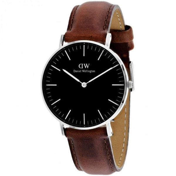 Daniel Wellington Classic St Mawes Black Dial 36mm Dw00100142 Ladies Watch