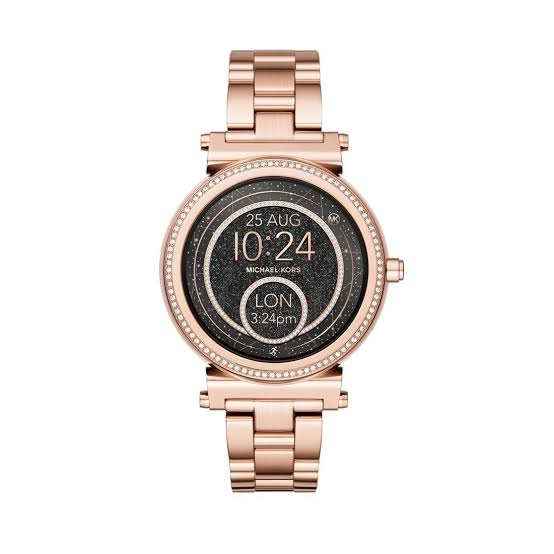 Michael Kors Sofie Touchscreen MKT5022 Rose Gold Smartwatch Ladies Watch