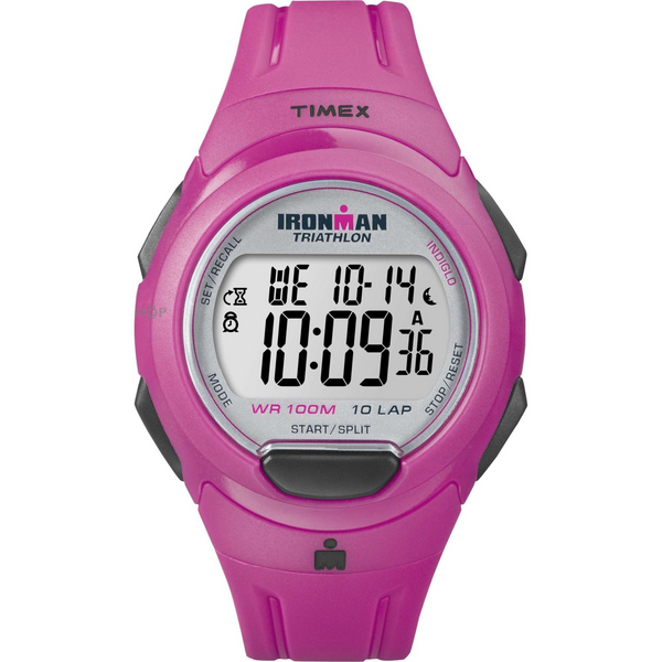 Timex T5K780 Pink 10 Lap Alarm Chronograph Watch Ladies Watch