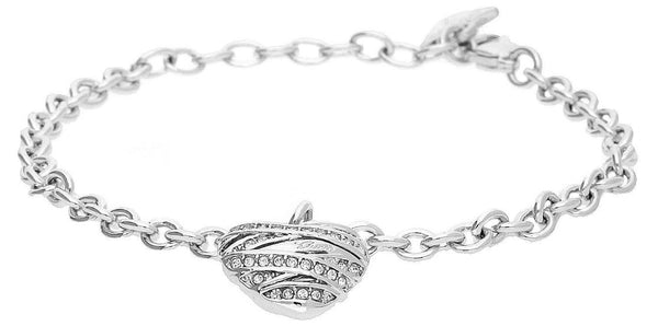 GUESS BRACELET RHODIUM PLATED UBB21594