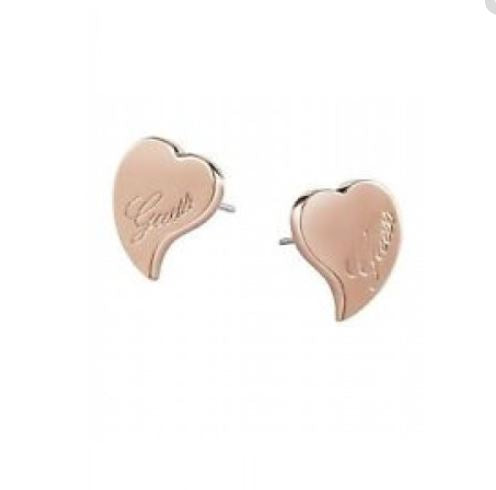 GUESS EARRINGS UBE71528 ROSE GOLD PLATED