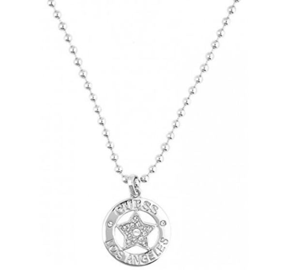 Guess Necklace UBN21605 Silver Plated