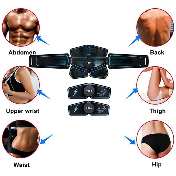 abdomen back upper wrist waist hip - Trusty Fitness